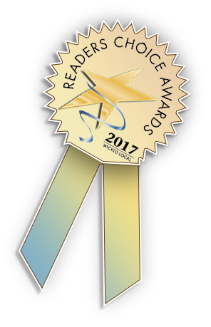 Reader's Choice Award ribbon logo